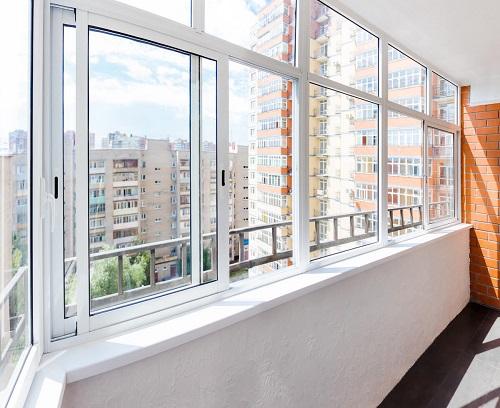 Холодный метод остекления балкона