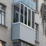 Балкон в брежневке