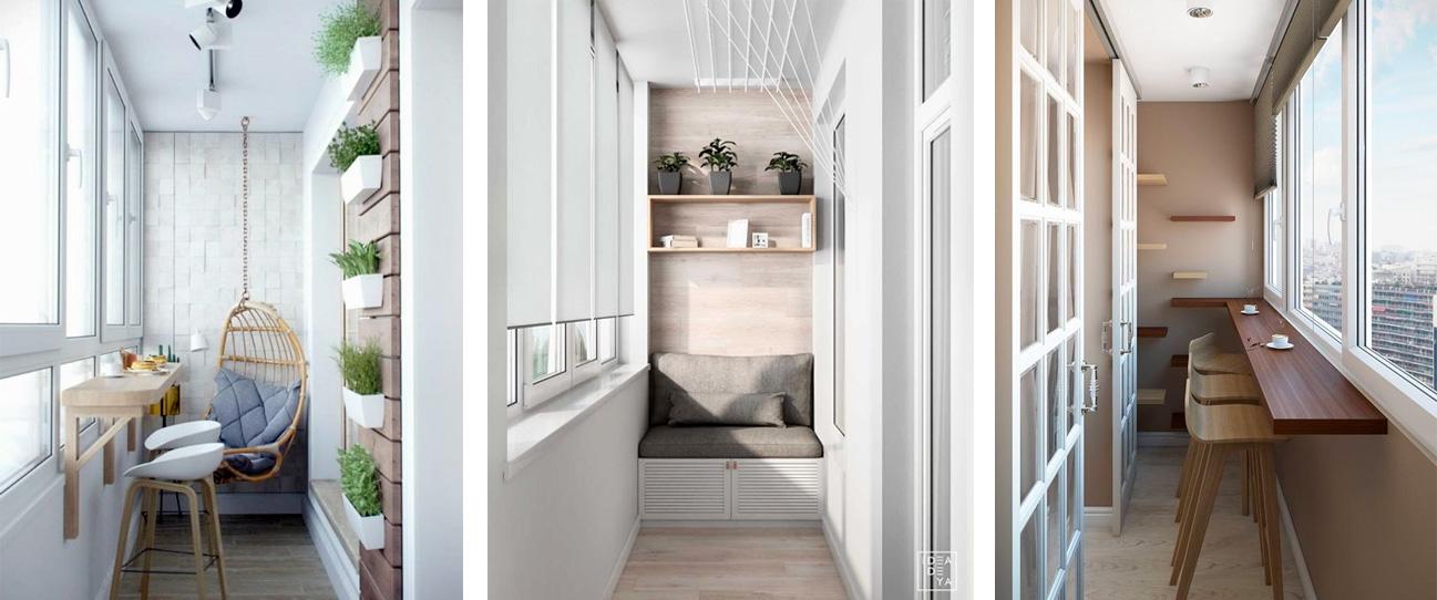 Монтаж конструкции для балкона